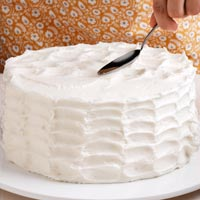 Icing Patterns For Wedding Cakes